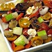 Greek Style Panzanella Salad with cherry tomatoes, kalamata olives, feta cheese, and homemade croutons 2