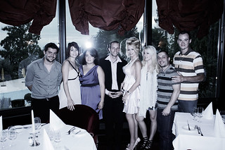 Melissa Adret 's Birthday (2011), Le Récital, Gastronomique Restaurant, Casino of Montreux | by Melissa A. N. (Model)