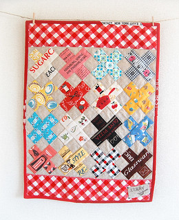 Mini Cross Quilt for Kerry | by ayumills