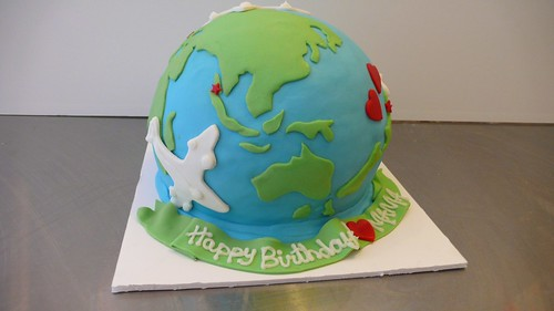 Birthday Cake Ideas Nz : World Cake World Cake commissioned by a mother all the ...