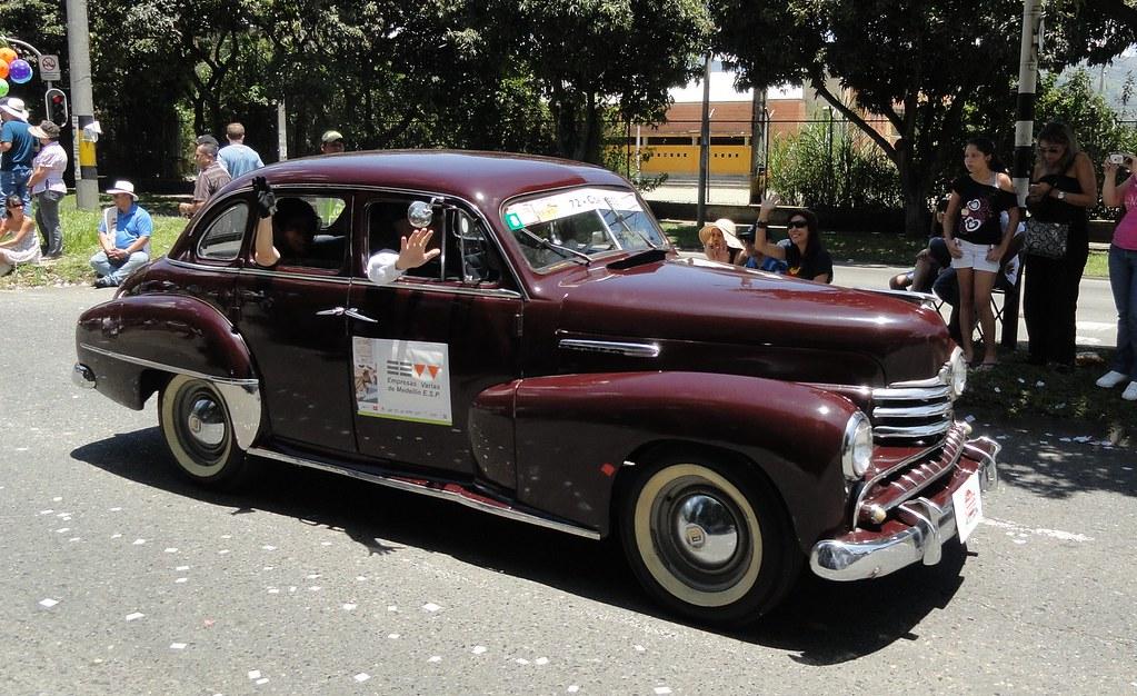 Desfile Autos Antiguos Opel Kapitan 1953 Juan Actuario Flickr