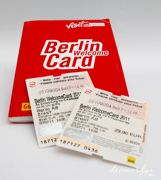 Berlin Welcome Card Learning On How To Do A Stock Photo Flickr