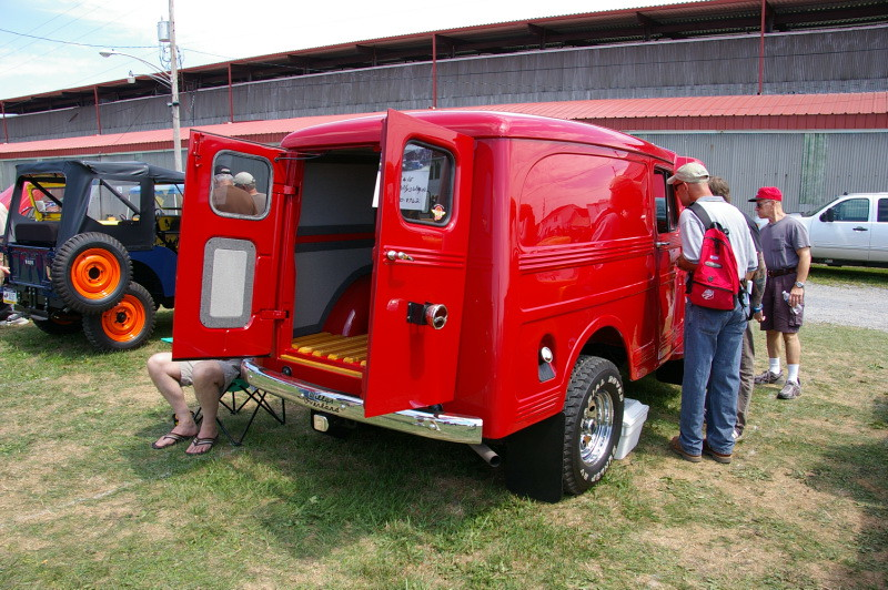 Willys Overland Panel Delivery Wagon Rear Barn Doors | Flickr