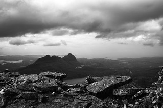 Suilven from Canisp summit | by padsbrother