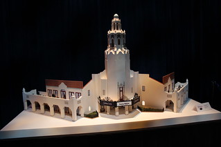 Carthay Circle Theater Model, Disney California Adventure Expansion, D23 Expo August 2011 | by Mastery of Maps