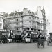 Traffic in London in 1927 in front of Piccadilly Arcade
