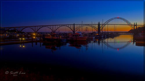 Yaquina Bay Sunset | by Just Used Pixels