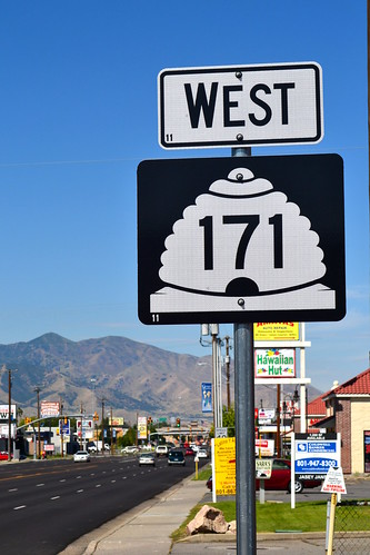 west on SR-171 (3500 South), West Valley City | by CountyLemonade