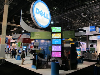 VMworld 2011 Expo Floor - Dell Booth | by Dell's Official Flickr Page