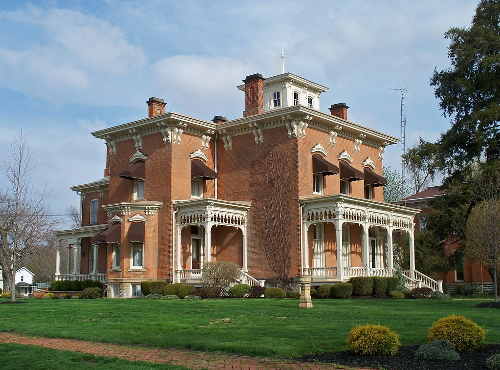 Oh Upper Sandusky House Handsome Italiante House In
