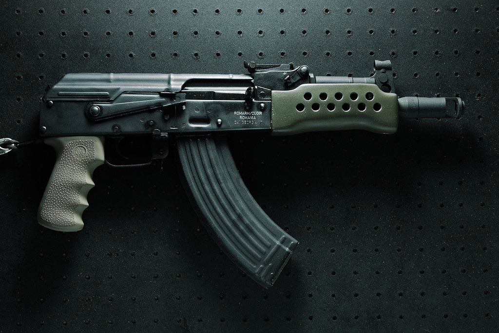 mini draco ak 47 gun pr n finished the project gun the. Black Bedroom Furniture Sets. Home Design Ideas