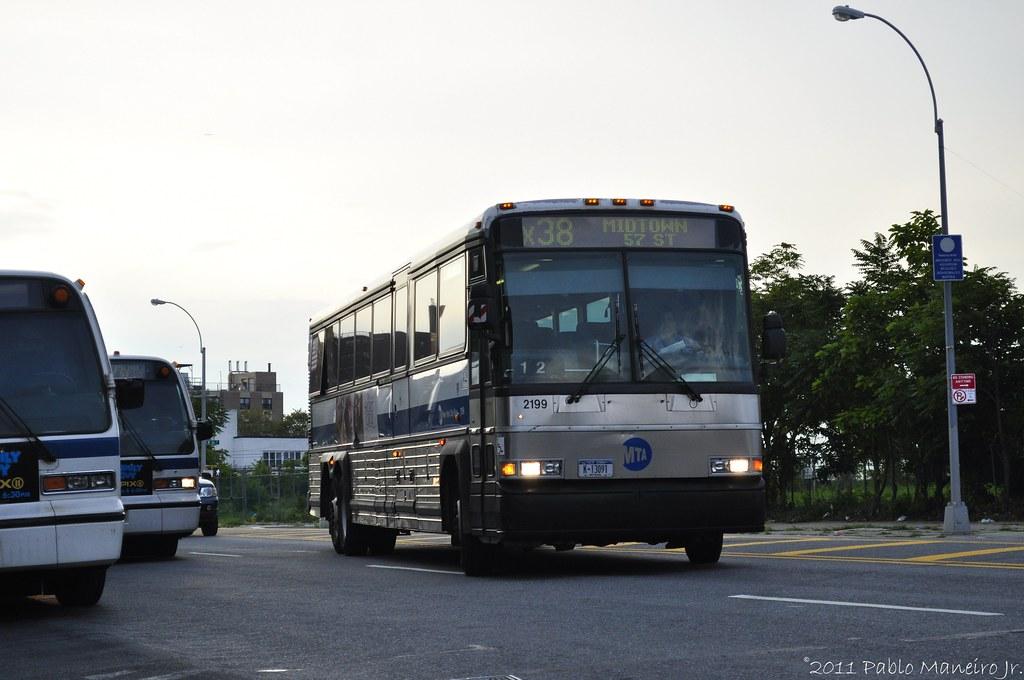 New York Mta Motor Coach Industries D4500 2199 New York