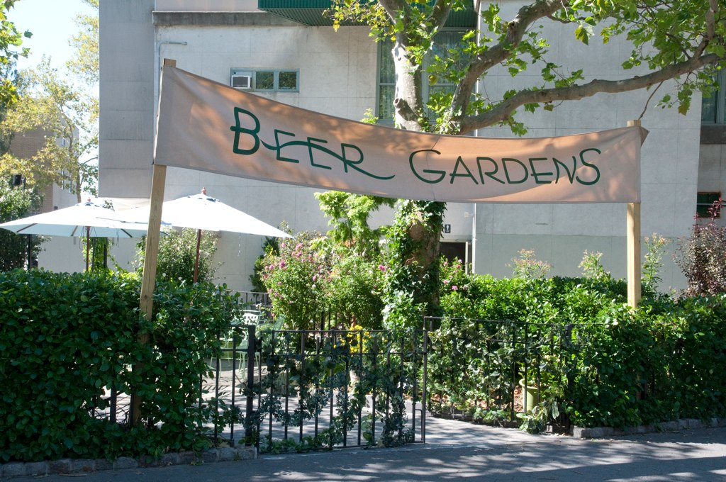 Beer Gardens Banner The Beer Gardens At Battery Park