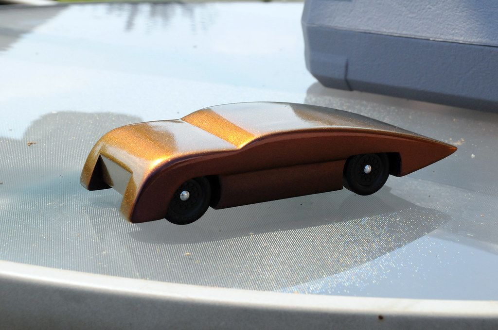 2011 Csca Pinewood Derby Car 11 Finished Car Note I