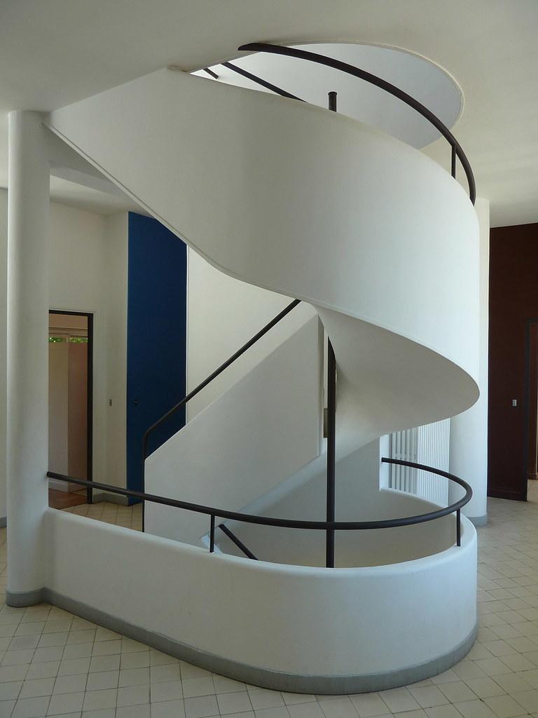 villa savoye by le corbusier steve silverman flickr. Black Bedroom Furniture Sets. Home Design Ideas