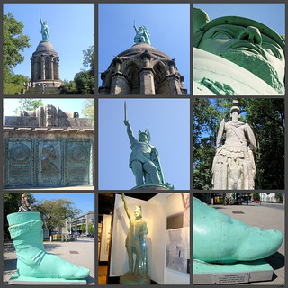 The Hermann Monument, Teutoburg Forest, North-Rhine-Westphalia, Germany | by ✿LEA✿