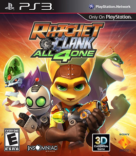 Ratchet & Clank: All 4 One box art | by PlayStation.Blog
