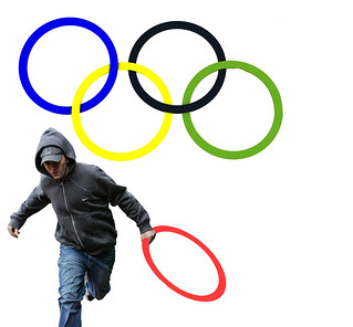 New Logo for the London Olympic Looting Team... | by pure evil gallery