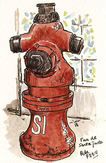 hydrant rua santa justa | by petescully