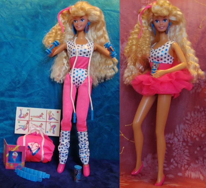 All Stars Barbie 1989 I Had A Similar Doll As A Child