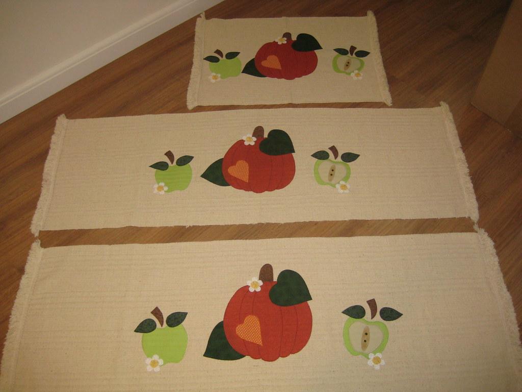 Tapetes Para Cozinha Dinorah Magnani Ramos Flickr -> Tapete De Tecido Para Cozinha
