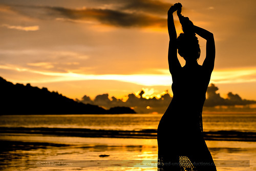Patong Beach Sunset Silhouette | by bovinemagnet