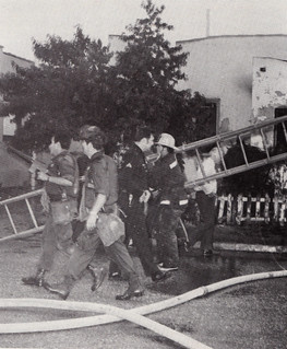 SLA Shootout May 17, 1974 | by Los Angeles Fire Department Historical Society