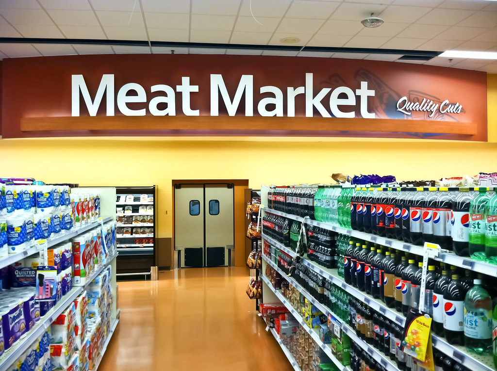 ... Interior Grocery Store | Market Decor Design | Grocery Store Upgrade |  Meat Area Décor |