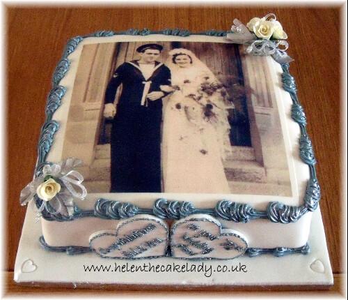 Th Anniversary Cake Ideas
