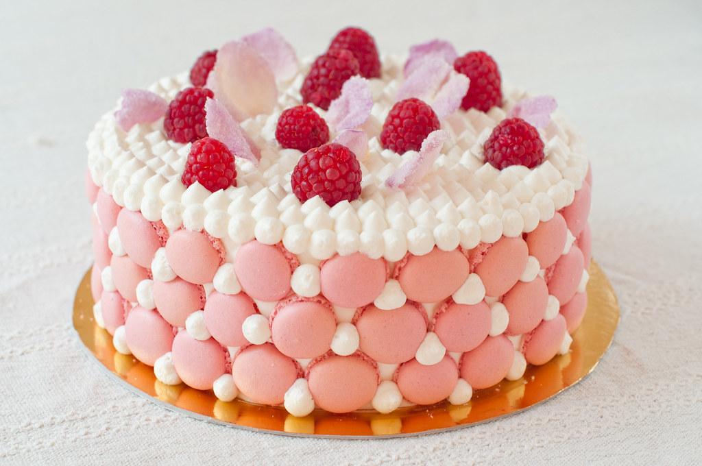 Cake Images We Heart It : Mini Ispahan Cake ????? ??????? Flickr
