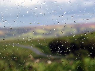 Sat in the car waiting for the rain to stop! | by Nikki-ann