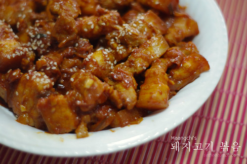Maangchi's Spicy Stir-fried Pork | by sethee