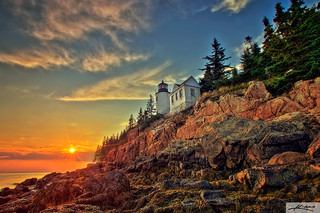 Bass Harbor Lighthouse Acadia National Park | by Captain Kimo