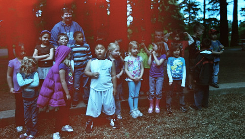field trip with truman's kindergarten class: the red attacks the kindergarten class | by cafemama
