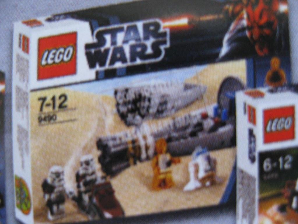 Lego Star Wars Set Bilder 2012 Welle 9490 Droid Escape 26 Flickr