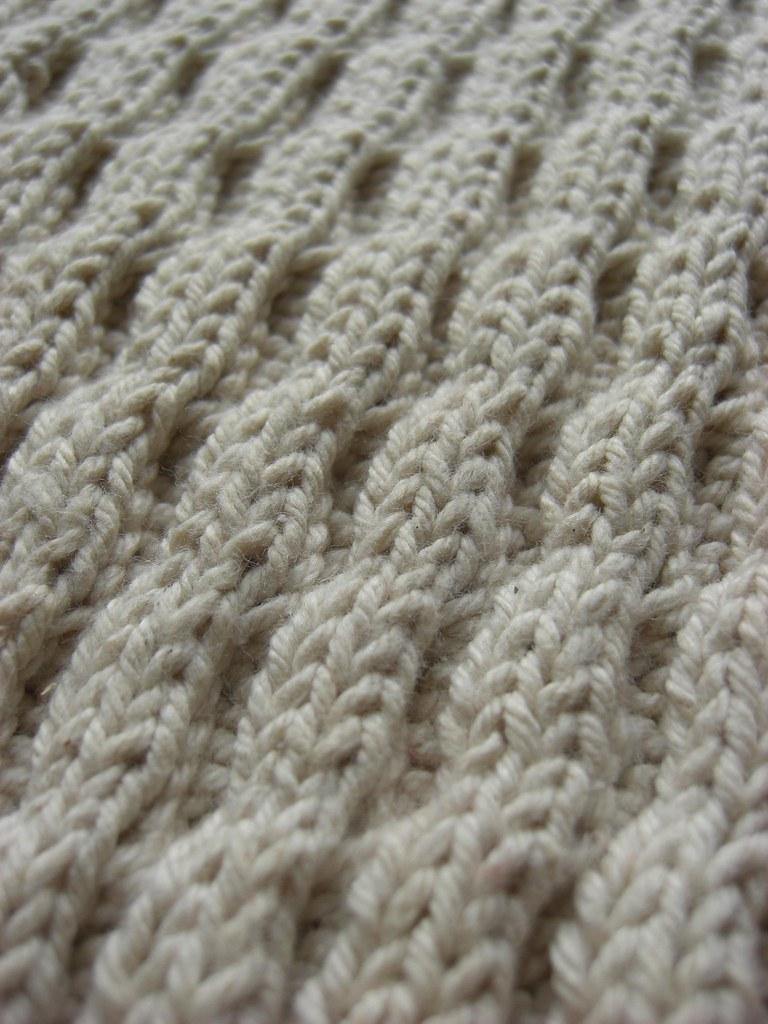 Diagonal Wave   A Treasury of Knitting Patterns Barbara G Wa…   Flickr
