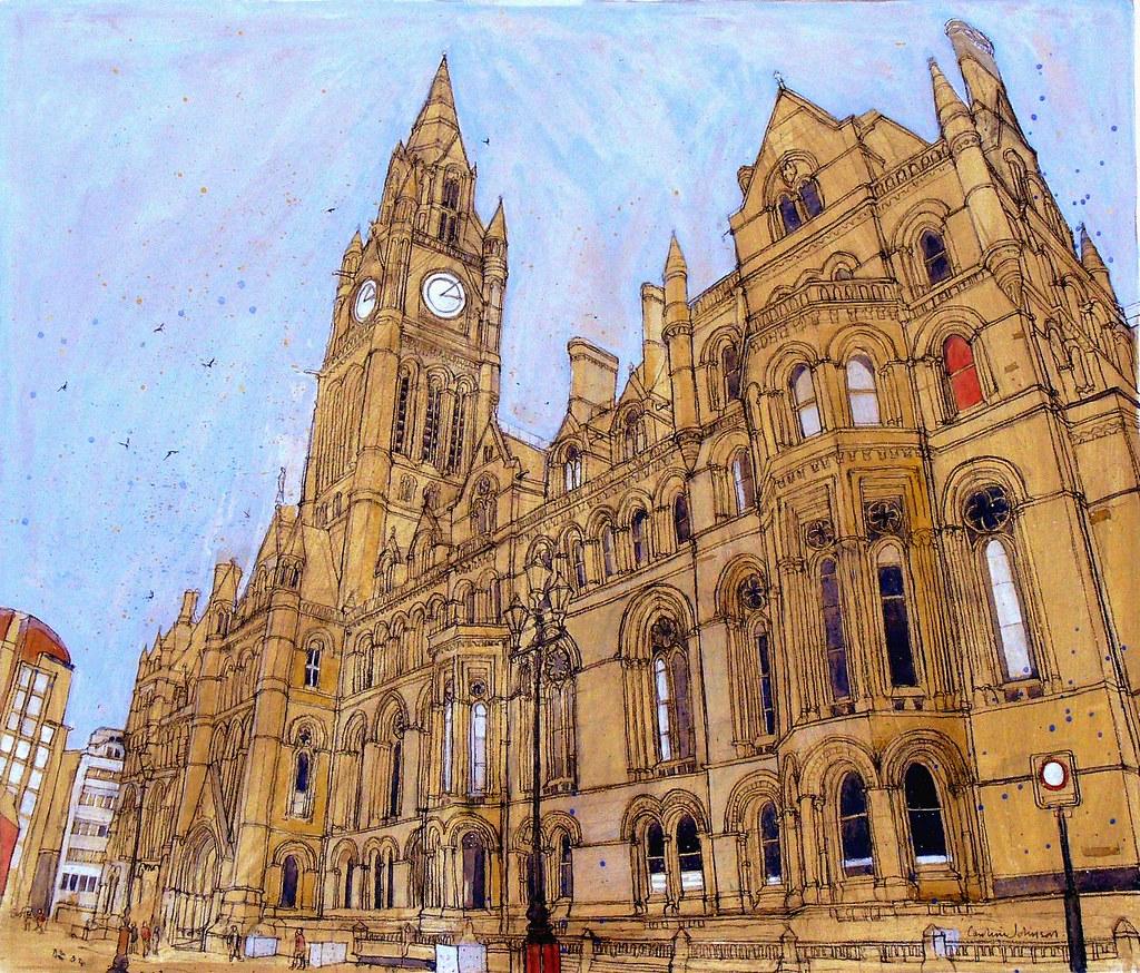 ... larosecarmine The Town Hall, Manchester | by larosecarmine