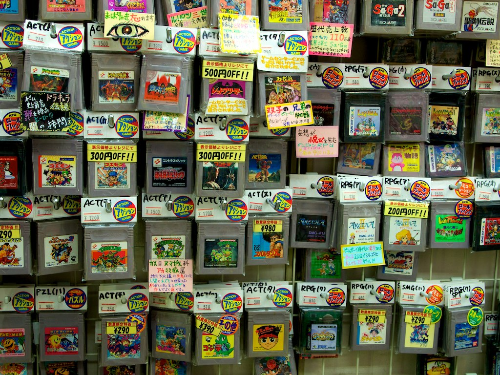 Game Boy Cartridges Mhiguera Flickr