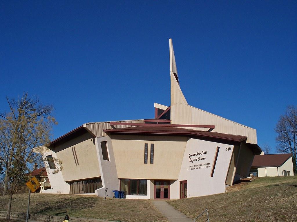 ... OH Cincinnati   Greater New Light Baptist Church   By Scottamus