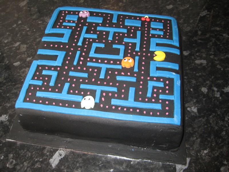 Pacman Birthday Cake Brazen J Flickr