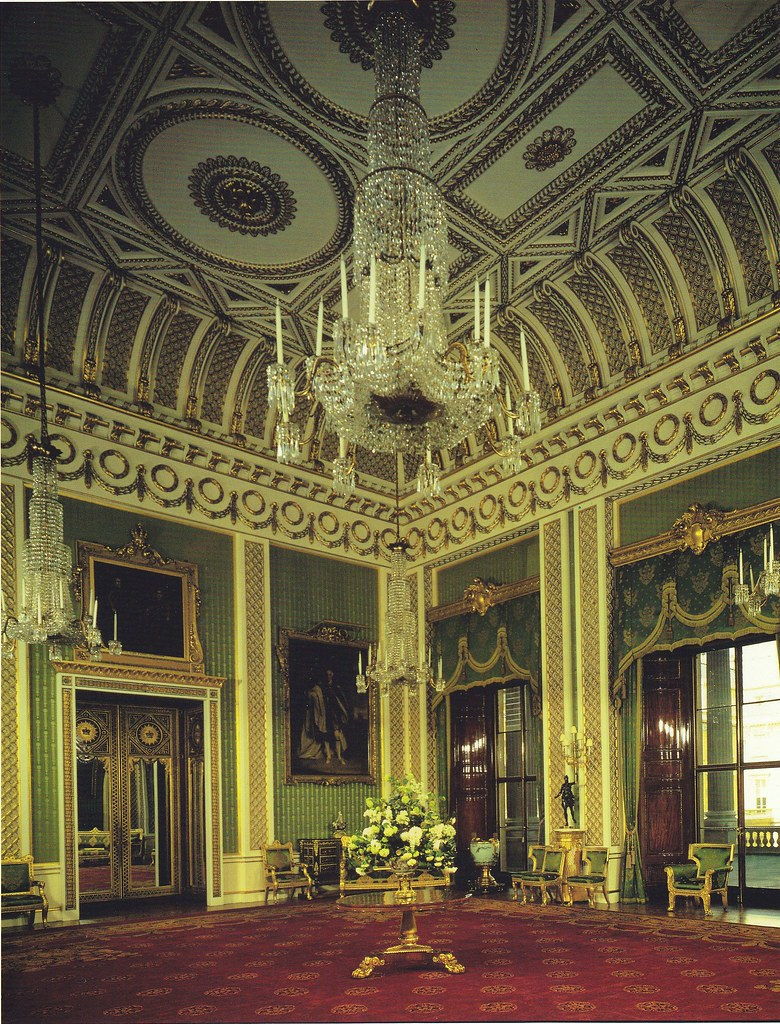 Castle Drawing Room: The Green Drawing Room, Splendid And