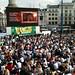 Trafalgar Square gearing up © ROH 2011
