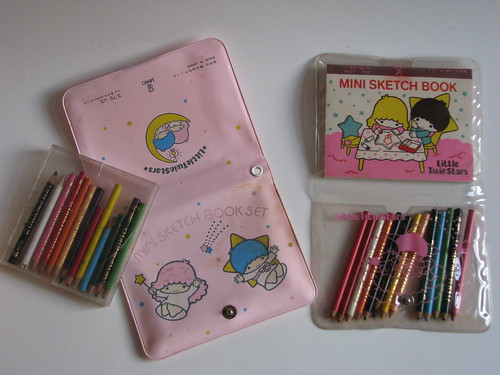 Little Twin Stars vintage drawing items Sanrio | by sirimaedoll