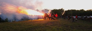 Cannon firing on Ft Sumter 2011 04 | by Photography.MS