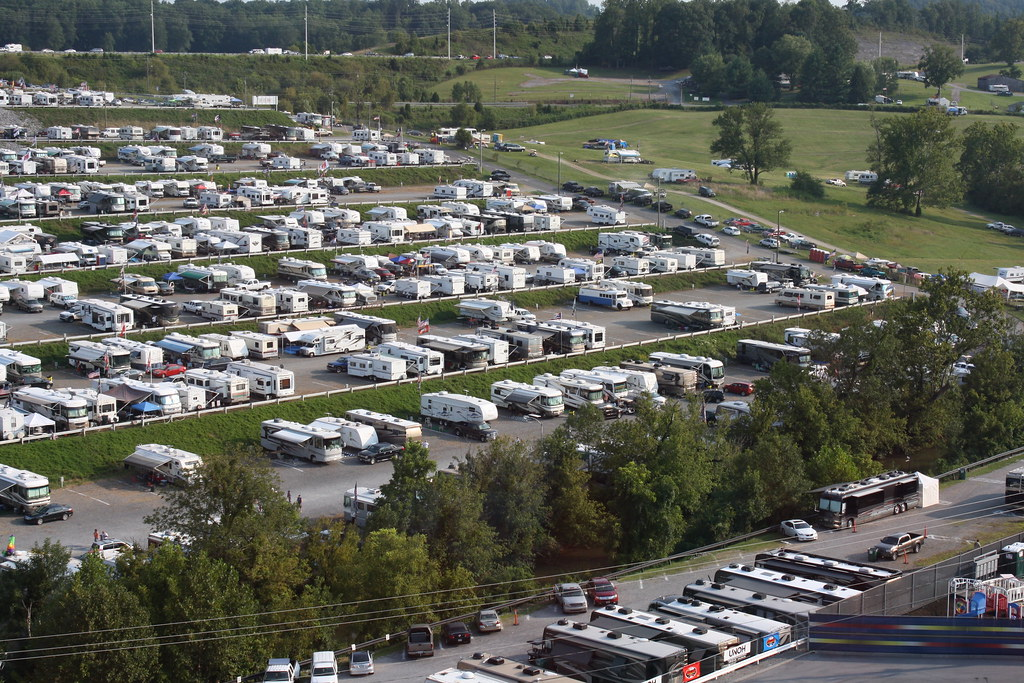 all american campground bristol motor speedway dragway. Black Bedroom Furniture Sets. Home Design Ideas