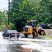 Hurricane Irene Flooding On Queen St., Southington, CT