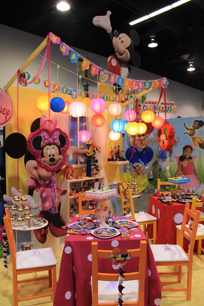 Mickey Mouse Clubhouse Birthday Party Theme Disney Living Flickr