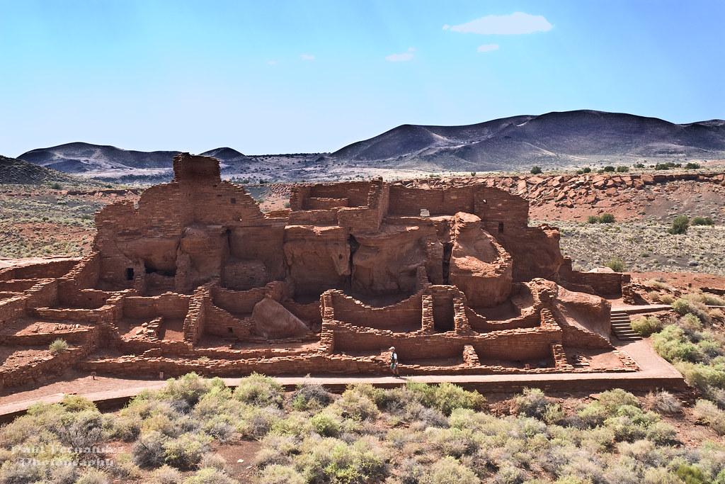 Wupatki Pueblo Ruins 1 at Wupatki National Monument Arizo Flickr
