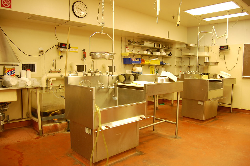 Autopsy Stations In The Vancouver General Hospital Morgue