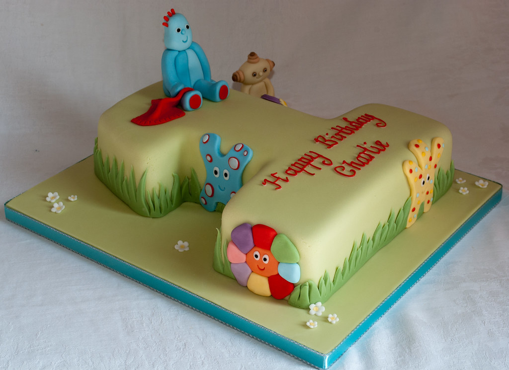 In the night garden number 1 birthday cake www for In the night garden cakes designs